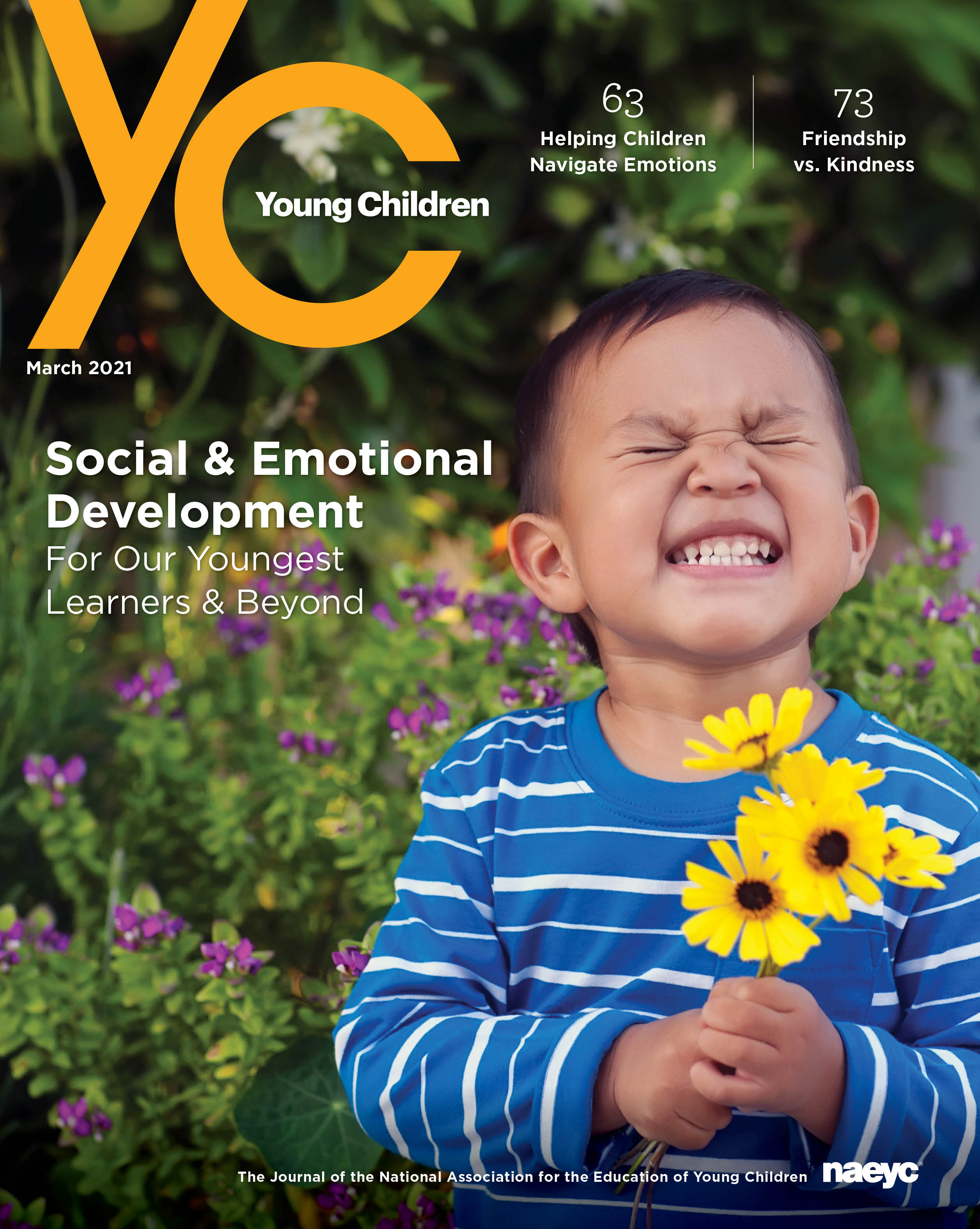 Young Children Journal - Spring 2021 *All Sales are final
