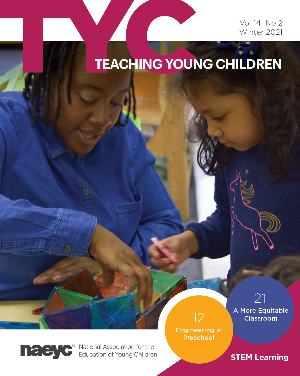 Teaching Young Children Vol. 14 #2 *All Sales are Final