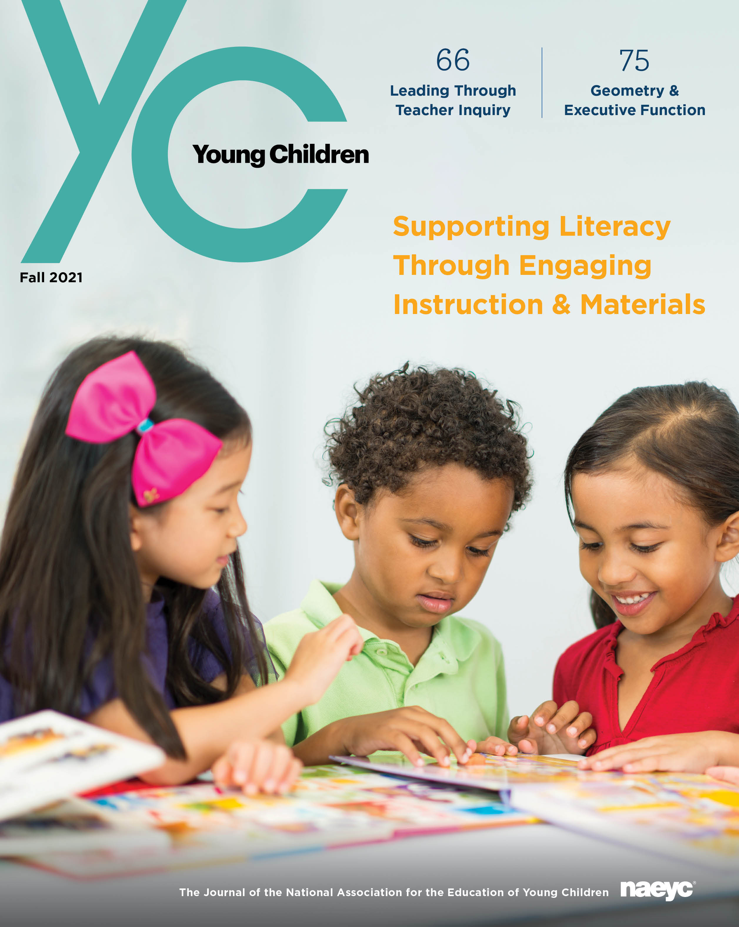 Young Children Journal - Fall 2021 *All Sales are final