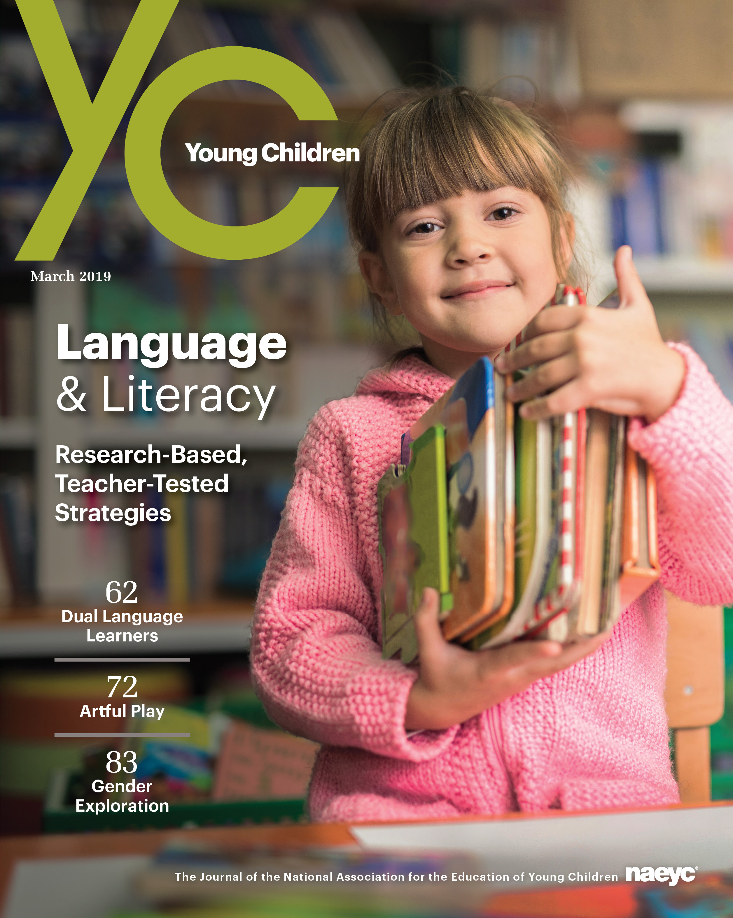 Young Children Journal - March 2019 *All Sales are Final