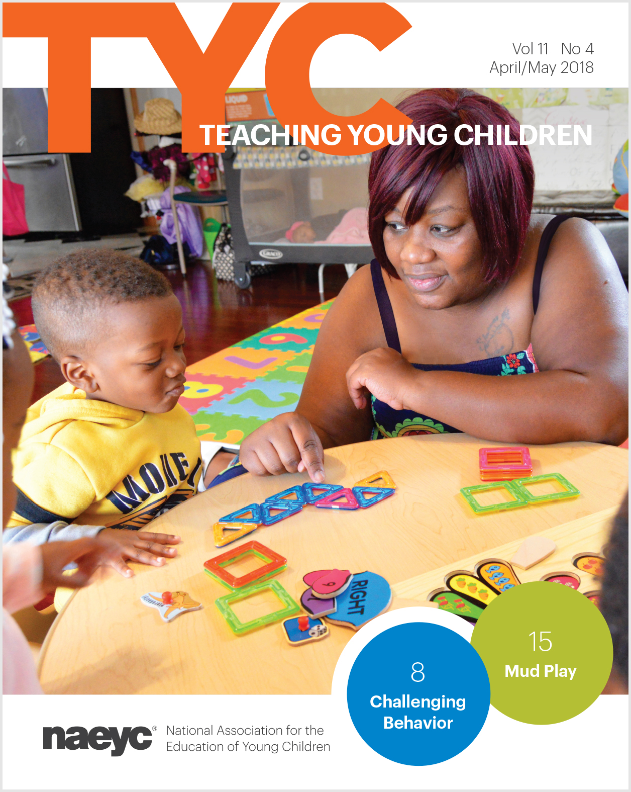 Teaching Young Children Vol. 11 #4 *All Sales are Final