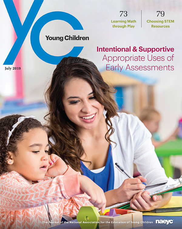 Young Children Journal - July 2019 *All Sales are Final