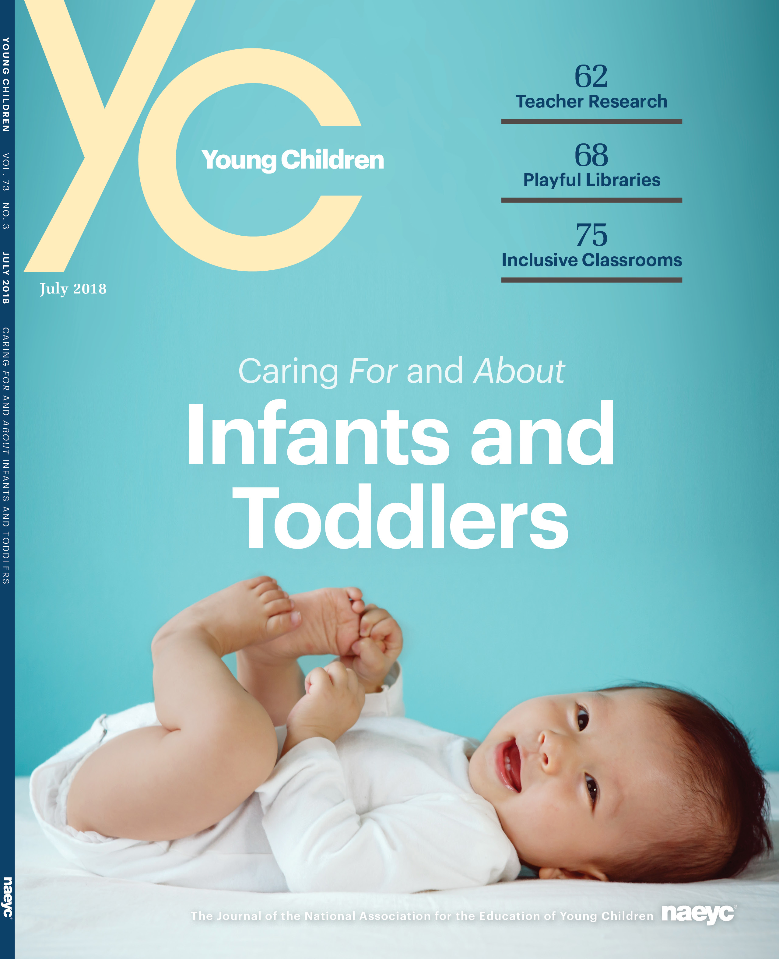 Young Children Journal - July 2018 *All Sales are Final